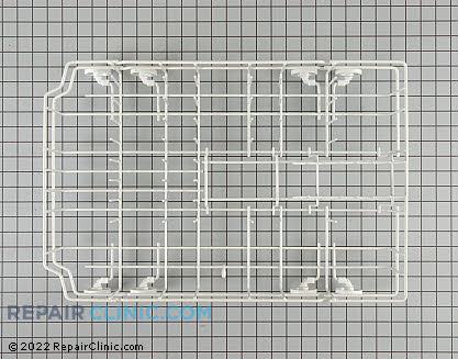Lower Dishrack Assembly (OEM)  WD28X10003