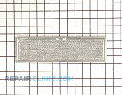 Grease Filter - Part # 249173 Mfg Part # WB2X4783