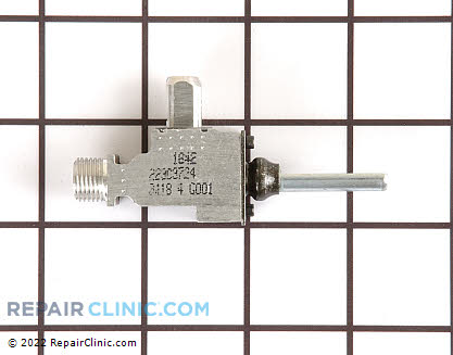Surface Burner Valve (OEM)  WB21K38