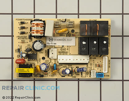 Relay Board EBR39283901 Main Product View