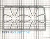 Burner Grate - Part # 1026045 Mfg Part # WB31K10080