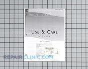 Repair Manual - Part # 1184723 Mfg Part # 2202707