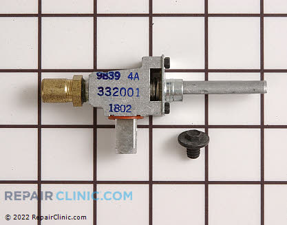 Surface Burner Valve (OEM)  WB21X467, 252349