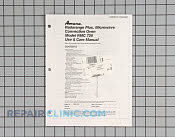 Owners manual (rmc72 - Part # 126853 Mfg Part # C8940807