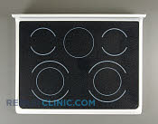 Glass Cooktop - Part # 1197217 Mfg Part # 316456248