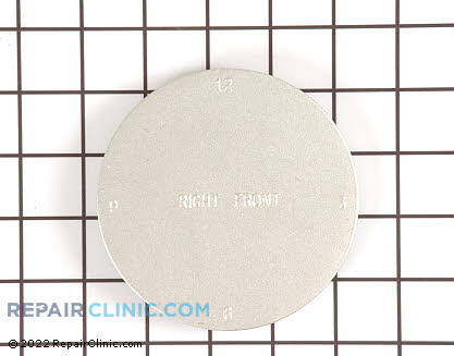 Surface Burner Cap WB16K10034      Main Product View