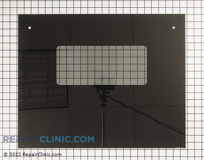 Outer Door Glass WB57K5256       Main Product View