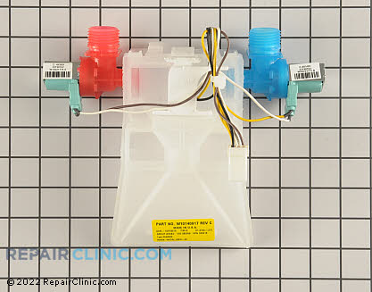 Water Inlet Valve (OEM)  W10140917