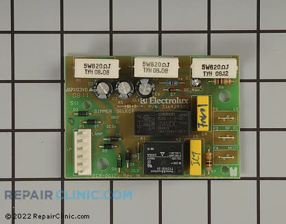 Kenmore Oven Relay Board