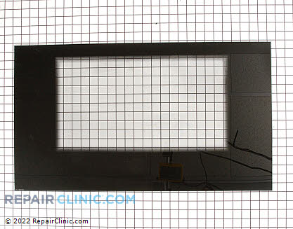 Oven Door Glass 316240000 Main Product View
