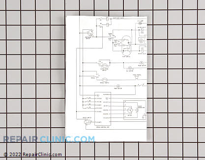 Wiring Diagram (OEM)  134185500 - $1.95