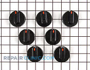 Knob kit-26,28,55,58, - Part # 1754 Mfg Part # 12500063