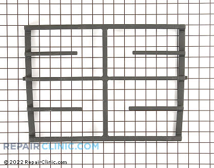 Grate, center (coal matte black) 8285891CB       Main Product View