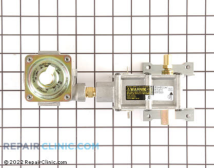 Kitchenaid Oven Safety Valve and Regulator Assembly
