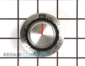 Knob, electric therm - Part # 343887 Mfg Part # 0310350