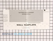 Template,installation ,wall - Part # 1055414 Mfg Part # 5304440330