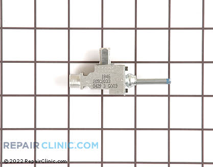 Surface Burner Valve (OEM)  WB21K14, 252027