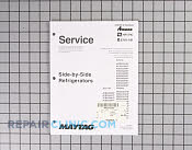 Service manual - Part # 1184408 Mfg Part # 16025628