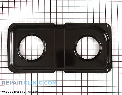 Burner Drip Pan (OEM)  WB34K10017