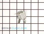 Door Key - Part # 1223360 Mfg Part # RF-3898-03