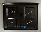 Metal Cooktop - Part # 1037940 Mfg Part # 316202349