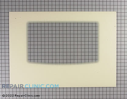 Oven Door Glass 316406402       Main Product View