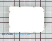 Plate cover white - Part # 269635 Mfg Part # WC36X5091