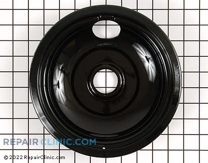 8 Inch Burner Drip Bowl (OEM)  WB32K5042, 258110