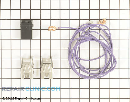 Element Receptacle and Wire Kit (OEM)  WB17T10006