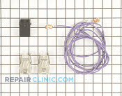 Element Receptacle and Wire Kit - Part # 1038747 Mfg Part # WB17T10006