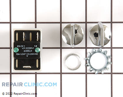 Rotary Switch (OEM)  WC36X5008 - $91.50