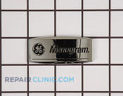 Nameplate - Part # 942531 Mfg Part # WB02X10833