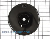 Pan, burner (lg-blk) - Part # 696006 Mfg Part # 71002729