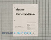 Owner's Manual - Part # 1023411 Mfg Part # 12401532