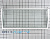 Glass shelf, spill proof - Part # 1394378 Mfg Part # 7005165