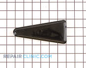 Cover hinge  black - Part # 375270 Mfg Part # 10126402