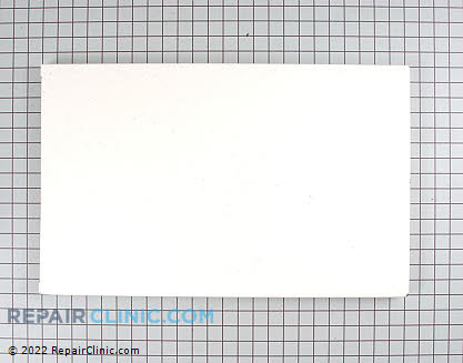 Panel front white WC36X10043      Main Product View