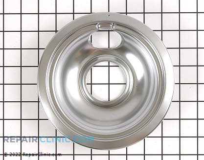6 Inch Burner Drip Bowl (OEM)  WB32X10017, 824244