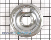 6 Inch Burner Drip Bowl - Part # 824244 Mfg Part # WB32X10017