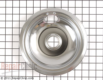8 Inch Burner Drip Bowl (OEM)  PM32X113 - $4.95