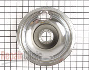 8 Inch Burner Drip Bowl - Part # 1038628 Mfg Part # PM32X113