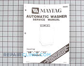 Repair Manual - Part # 421563 Mfg Part # 16000401