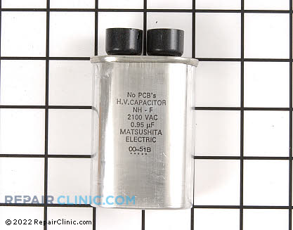 Ge High Voltage Capacitor Mfd