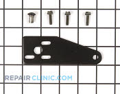 Bottom Hinge - Part # 908002 Mfg Part # 11697-SBBLK