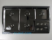 Metal Cooktop - Part # 1042100 Mfg Part # 143100