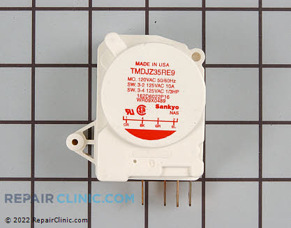 Defrost Timer WR9X489 Main Product View