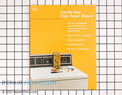 Repair Manual (OEM)  WX10X116 - $20.60