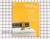 Repair Manual - Part # 2512 Mfg Part # WX10X116