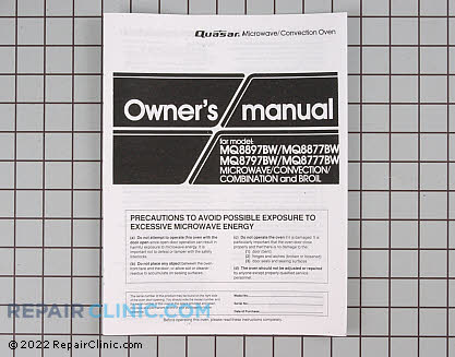 Owner's Manual A00034210AQ Main Product View
