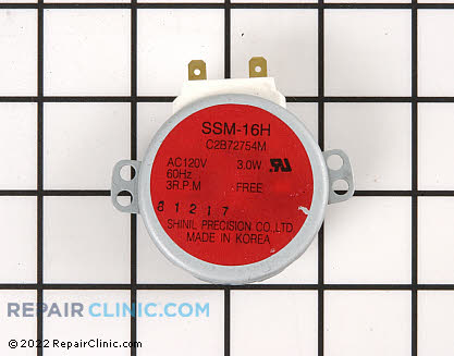 Turntable Motor 15QBP4104 Main Product View